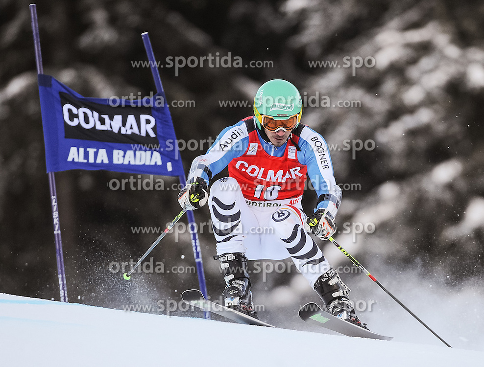 16.12.2012, Grand Risa, Alta Badia, ITA, FIS Weltcup, Ski Alpin, Riesenslalom, Herren, 1. Lauf, im Bild Felix Neureuther (GER) // Felix Neureuther of Germany in action during 1st run of the mens Giant Slalom of the FIS Ski Alpine Worldcup at the Grand Risa course, Alta Badia, Italy on 2012/12/16. EXPA Pictures © 2012, PhotoCredit: EXPA/ Johann Groder
