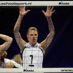 27-03-2011 VOLLEYBAL: TVC AMSTELVEEN - HEUTINK POLLUX: AMSTELVEEN <br /> Halve finale playoffs eredivisie 2010 - 2011 / Quinta Steenbergen<br /> ©2011 Ronald Hoogendoorn Photography