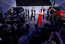 April 27, 2018 - Beijing, Beijing, China - Beijing, CHINA-27th April 2018: People flock to Auto China 2018 in Beijing, April 27th, 2018. (Credit Image: © SIPA Asia via ZUMA Wire)