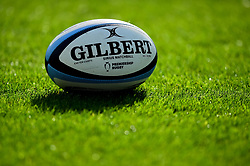 A Gallagher Premiership Rugby Sirius Match Ball - Mandatory by-line: Ryan Hiscott/JMP - 19/10/2019 - RUGBY - Sandy Park - Exeter, England - Exeter Chiefs v Harlequins - Gallagher Premiership Rugby