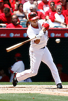 May 5, 2007: Orlando Cabrera at bat as the Chicago White Sox defeated the Los Angeles Angels of Anaheim 6-3 at Anaheim Stadium in Anaheim, CA..
