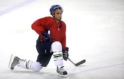 Player Daniel Terenta  of Canada at second ice hockey practice of HDD Tilia Olimpija on ice in the new season 2008/2009, on August 19, 2008 in Hala Tivoli, Ljubljana, Slovenia. (Photo by Vid Ponikvar / Sportal Images)