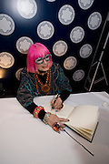 ZANDRA RHODES, The Presentation of the Montblanc de la Culture Arts Patronage Award to Anthony D'Offay. Tate Modern. 16 April 2009<br /> ZANDRA RHODES, The Presentation of the Montblanc de la Culture Arts Patronage Award to Anthony D'Offay. Tate Modern. 16 April 2009 *** Local Caption *** -DO NOT ARCHIVE-© Copyright Photograph by Dafydd Jones. 248 Clapham Rd. London SW9 0PZ. Tel 0207 820 0771. www.dafjones.com.