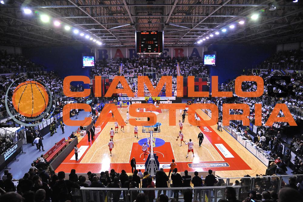 DESCRIZIONE : Biella Lega A 2011-12 Angelico Biella EA7 Emporio Armani Milano<br /> GIOCATORE : Lauretana Forum Biella<br /> SQUADRA : Angelico Biella<br /> EVENTO : Campionato Lega A 2011-2012<br /> GARA : Angelico Biella EA7 Emporio Armani Milano<br /> DATA : 15/01/2012<br /> CATEGORIA : <br /> SPORT : Pallacanestro<br /> AUTORE : Agenzia Ciamillo-Castoria/S.Ceretti<br /> Galleria : Lega Basket A 2011-2012<br /> Fotonotizia : Biella Lega A 2011-12 Angelico Biella EA7 Emporio Armani Milano<br /> Predefinita :