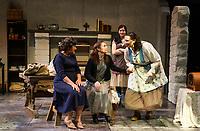 Dancing at Lughnasa dress rehearsal with Winnipesaukee Playhouse.  Karen Bobotas for the Laconia Daily Sun