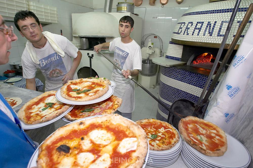 Pizzeria Brandi ?where the Pizza Margherita was invented in 1889.