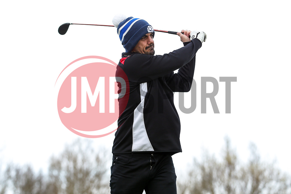 Scotty Murray in action on the Bristol City golf day in aid of Childrens Hospice South West and the Bristol City Community Trust - Rogan Thomson/JMP - 21/03/2017 - GOLF - Mendip Springs Golf Club - Bristol, England - Bristol City Charity Golf Day.