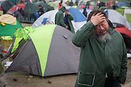 Ai Weiwei visits Idomeni-Camp