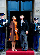 13-1-2016 AMSTERDAM Koning Willem-Alexander en Koningin Maxima houden woensdag 13  januari 2016 de traditionele Nieuwjaarsontvangst voor buitenlandse diplomaten in het paleis op de dam . prinses beatrix  prinses Margriet COPYRIGHT ROBIN UTRECHT<br /> AMSTERDAM 13-1-2016 King Willem-Alexander and Queen Maxima hold wensday, January 13th, 2016 the traditional New Year reception for foreign diplomats in the palace on the dam. princess beatrix Princess Margriet COPYRIGHT ROBIN UTRECHT