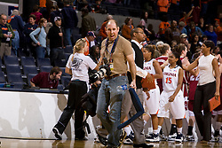 The #15 ranked Virginia Cavaliers defeated the Rider Broncs 83-38 in the Marriott Cavalier Classic Basketball Tournament at the John Paul Jones Arena on the Grounds of the University of Virginia in Charlottesville, VA on December 28, 2008.