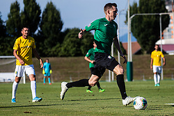 Leon Crncic of NK Rudar during football match between NK Bravo and NK Rudar Velenje in 1sth Round of Slovenian Cup 2019/20, on August 15, 2019 in Sports park ZAK, Ljubljana, Slovenia. Photo by Grega Valancic / Sportida