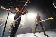 Photos of the rock band Green Day performing live at Irving Plaza, NYC. September 15, 2012. Copyright © 2012 Matthew Eisman. All Rights Reserved.
