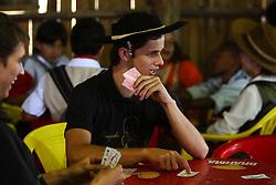 Jogo de Truco durante o 12 Rodeio Internacional do Mercosul, um dos maiores eventos do gênero. FOTO: Jefferson Bernardes/Preview.com