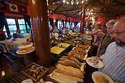 Victoria Sapa Hotel. Breakfast buffet.