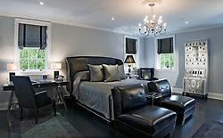 1824 R Street NW Duke Ellington Bedroom with Fornasetti Trumeau-bar architetturra Artist Inn Washington DC