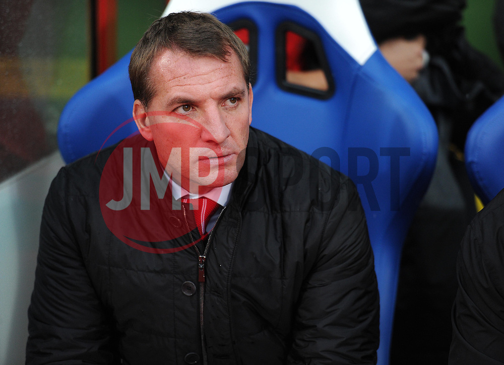 Liverpool Manager, Brendan Rodgers - Photo mandatory by-line: Alex James/JMP - Mobile: 07966 386802 - 23/11/2014 - Sport - Football - London -  - Crystal palace  v Liverpool - Barclays Premier League
