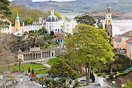 May in Portmeirion Village