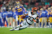 Cincinnati Bengals Wide receiver Tyler Boyd (83) during the International Series match between Los Angeles Rams and Cincinnati Bengals at Wembley Stadium, London, England on 27 October 2019.
