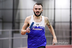mens 4x400 relay, UMass Lowell <br /> Multi-team Meet Indoor Track & Field
