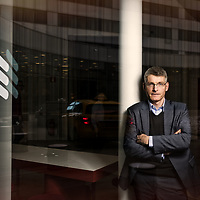Uppdrag för Ingenjörsvetenskapsakademien. Erik Ekudden, chef FoU Ericsson AB. Foto © Daniel Roos