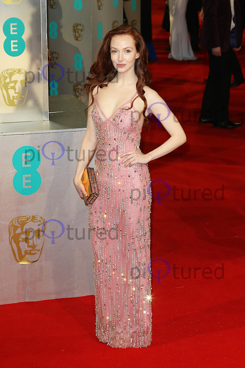 Olivia Grant, EE British Academy Film Awards (BAFTAs), Royal Opera House Covent Garden, London UK, 08 February 2015, Photo by Richard Goldschmidt