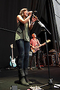 Michelle Branch opening for Goo Goo Dolls at the Lifestyles Community Pavilion in Columbus, Ohio on August 2, 2011