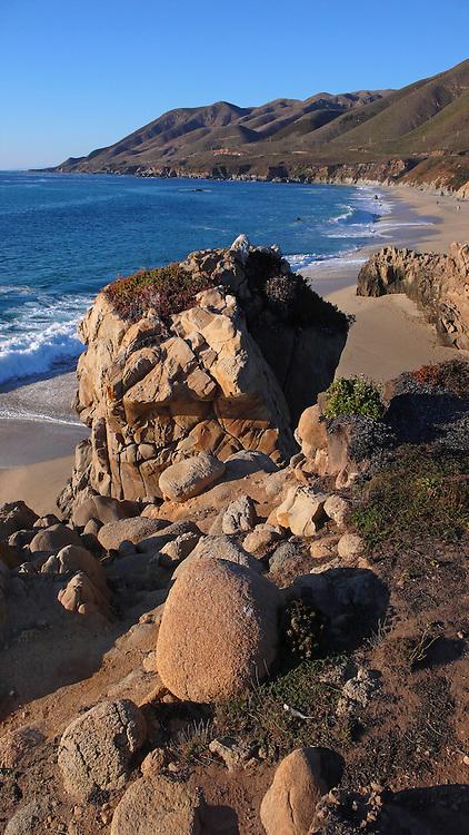 Garrapata Beach, Big Sur, California<br />