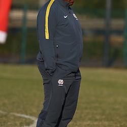 DURBAN, SOUTH AFRICA - Wednesday 10th June 2015 ActionShakes Mashaba during The Bafana Bafana training session at  Moses Mabhida Stadium on Wednesday 10th June 2015 in Durban, South Africa<br /> Photo by Steve Haag