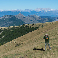 hunting is the swiss and french alps, europe, hunting photography from france and switzerland