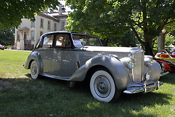 2018 Champagne British Car Festival held on Clover Lawn at David Davis Mansion in Bloomington IL<br /> <br /> 1954 Bentley R