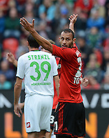 FUSSBALL   1. BUNDESLIGA  SAISON 2012/2013   4. Spieltag Bayer 04 Leverkusen - Borussia Moenchengladbach      23.09.2012 Oemer Toprak (Bayer 04 Leverkusen)