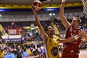 Vujacic Aleksander<br /> FIAT Torino - Victoria Libertas Pesaro<br /> Lega Basket Serie A 2017-2018<br /> Torino 22/10/2017<br /> Foto M.Matta/Ciamillo &amp; Castoria