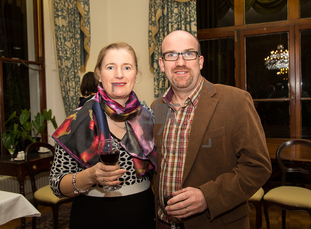 22.11.2016                   <br /> University of Limerick (UL) hosted a gala concert celebrating the music of renowned composer M&iacute;che&aacute;l &Oacute; S&uacute;illeabh&aacute;in.<br /> <br /> Pictured at a special reception before the concert were, Karen and Finbarr O'Shea.<br /> <br /> <br /> The RT&Eacute; Concert Orchestra, conducted by David Brophy, performed with M&iacute;che&aacute;l and a selection of special guests in University Concert Hall Limerick. Picture: Alan Place