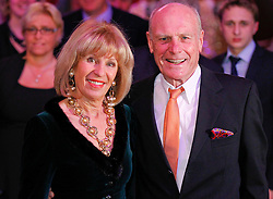 11.01.2014, Ballsaal Berlin Europapark, Rust, GER, 50 Jahre Henry Maske, Roter Teppich zum 50. Geburtstag von Henry Maske, im Bild Rudi Altig and wife Monique // Rudi Altig and wife Monique during red carpet to 50th Birthday of Henry Maske at Ballsaal Berlin Europapark in Rust, Germany on 2014/01/11. EXPA Pictures © 2014, PhotoCredit: EXPA/ Photoshot/ Mandoga Media<br /> <br /> *****ATTENTION - for AUT, SLO, CRO, SRB, BIH, MAZ only*****