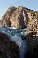 Mediterranean landscape, Antikythera island, Greece,