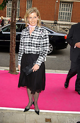 HRH The COUNTESS OF WESSEX at a charity event 'In The Pink' a night of music and fashion in aid of the Breast Cancer Haven in association with fashion designer Catherine Walker held at the Cadogan Hall, Sloane Terrace, London on 20th June 2005.<br /><br />NON EXCLUSIVE - WORLD RIGHTS