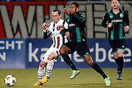 Onderwerp/Subject: Willem II - FC Groningen - Eredivisie<br /> Reklame:  <br /> Club/Team/Country: <br /> Seizoen/Season: 2012/2013<br /> FOTO/PHOTO: Ricardo IPPEL (L) of Willem II in duel with Leandro BACUNA (R) of FC Groningen. (Photo by PICS UNITED)<br /> <br /> Trefwoorden/Keywords: <br /> #04 $94 &plusmn;1355238911262<br /> Photo- &amp; Copyrights &copy; PICS UNITED <br /> P.O. Box 7164 - 5605 BE  EINDHOVEN (THE NETHERLANDS) <br /> Phone +31 (0)40 296 28 00 <br /> Fax +31 (0) 40 248 47 43 <br /> http://www.pics-united.com <br /> e-mail : sales@pics-united.com (If you would like to raise any issues regarding any aspects of products / service of PICS UNITED) or <br /> e-mail : sales@pics-united.com   <br /> <br /> ATTENTIE: <br /> Publicatie ook bij aanbieding door derden is slechts toegestaan na verkregen toestemming van Pics United. <br /> VOLLEDIGE NAAMSVERMELDING IS VERPLICHT! (&copy; PICS UNITED/Naam Fotograaf, zie veld 4 van de bestandsinfo 'credits') <br /> ATTENTION:  <br /> &copy; Pics United. Reproduction/publication of this photo by any parties is only permitted after authorisation is sought and obtained from  PICS UNITED- THE NETHERLANDS