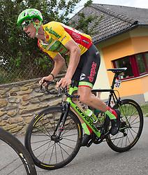 04.07.2017, Pöggstall, AUT, Ö-Tour, Österreich Radrundfahrt 2017, 2. Etappe von Wien nach Pöggstall (199,6km), im Bild Sep Vanmarcke (BEL, Cannondale-Drapac Pro Cycling Team) im gelben Trikot // Sep Vanmarcke of Belgium (Cannondale-Drapac Pro Cycling Team) wearing the yellow jersey during the 2nd stage from Vienna to Pöggstall (199,6km) of 2017 Tour of Austria. Pöggstall, Austria on 2017/07/04. EXPA Pictures © 2017, PhotoCredit: EXPA/ Reinhard Eisenbauer