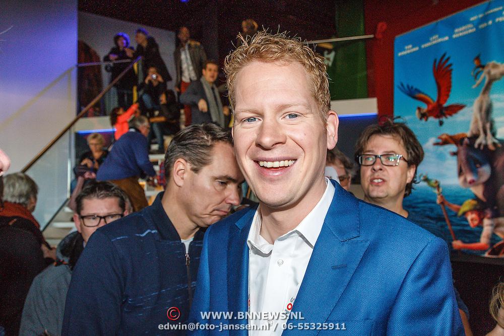 NLD/Hilversum/20160110 - NOS Journaal bestaat60 jaar en viert dit met Festival van het Nieuws, Peter Kuipers Munneke