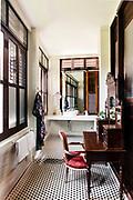 Bathroom at Seven Terraces hotel. Georgtown, Penang