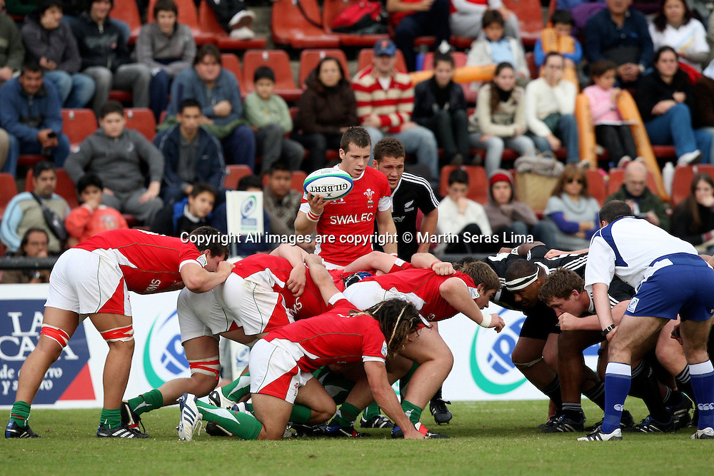 Rhys Downes - New Zealand 43 v 10 Wales - 13th June 2010 - C A Colon - Photo : Martin Seras Lima