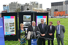 Christchurch-Announcement of urban dwellings planned for central city