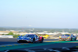 June 18, 2017 - Le Mans, Sarthe, France - Ford Chip Ganassi Team Michelin Ford GT.HARRY TINCKNELL (GBR) in action during the race of the 24 hours of Le Mans on the Le Mans Circuit - France (Credit Image: © Pierre Stevenin via ZUMA Wire)