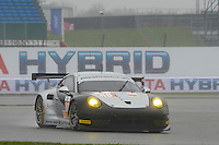 Richard Lietz (AUT) / Christian Ried (DUE) / Gianluca Roda (ITA)  #88 Proton Competition, Porsche 911 RSR, Porsche 4.0 L Flat-6, during Free Practice 1  as part of the ELMS 4 Hours of Silverstone 2016 at Silverstone, Towcester, Northamptonshire, United Kingdom. April 15 2016. World Copyright Peter Taylor. Copy of publication required for printed pictures.