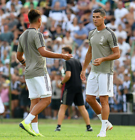 Paulo Dybala, Cristiano Ronaldo <br /> Villar Perosa 12-08-2018 Friendly Match - Amichevole Juventus A Vs Juventus B foto OnePlusNine/Insidefoto
