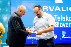Radenko Mijatovic and Matej Orazem during NZS Draw for season 2019/20, on June 21, 2019 in Celje, Maribor, Slovenia. Photo by Ziga Zupan / Sportida
