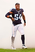 NASHVILLE, TN - NOVEMBER 29:  Avery Williamson #54 of the Tennessee Titans runs onto the field before a game against the Oakland Raiders at Nissan Stadium on November 29, 2015 in Nashville, Tennessee.  The Raiders defeated the Titans 24-21.  (Photo by Wesley Hitt/Getty Images) *** Local Caption *** Avery Williamson