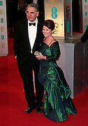 Feb 8, 2015 - EE British Academy Film Awards 2015 - Red Carpet Arrivals at Royal Opera House<br /> <br /> Pictured: Jim Carter and Imelda Staunton<br /> ©Exclusivepix Media