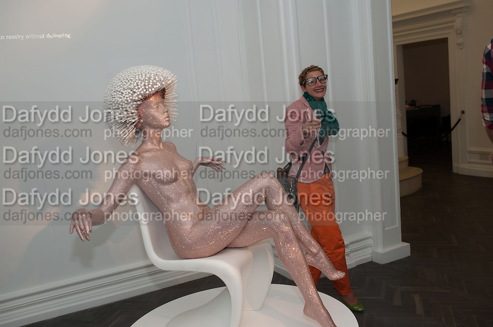 LIAT CHEM, Vogue's Fashion night out special opening of the Halcyon Gallery.  New Bond St. London. 6 December 2012.