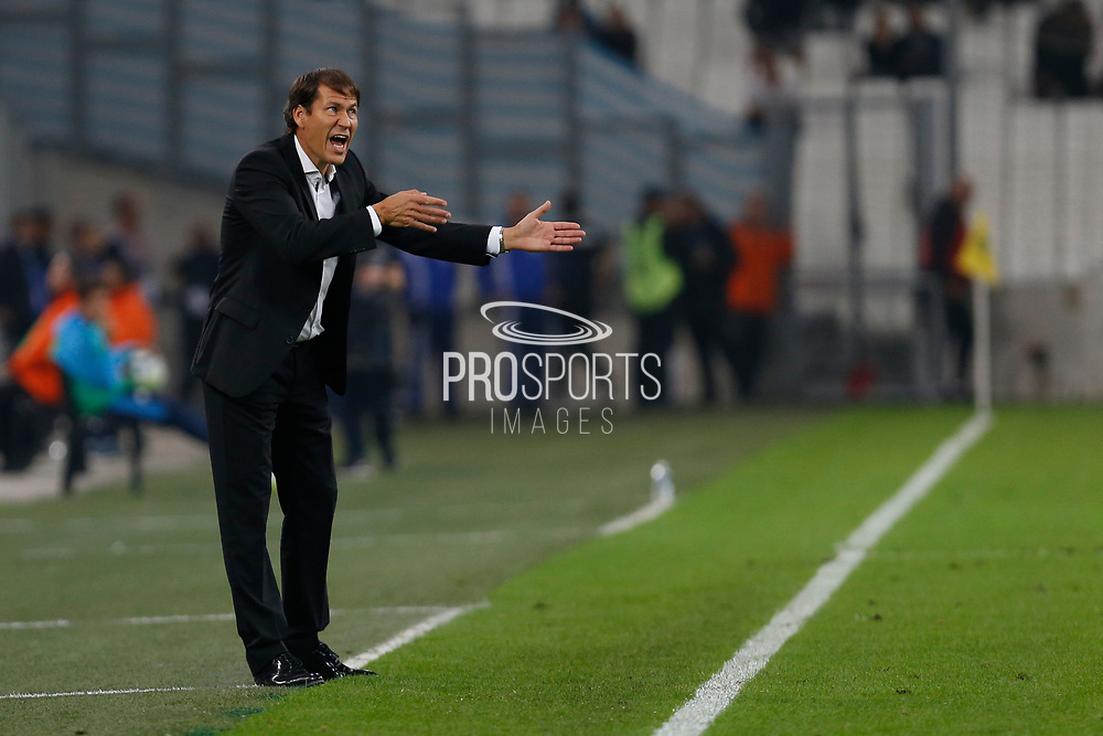 OM coach Rudi Garcia during the French Championship Ligue 1 football match between Olympique de Marseille and Toulouse FC on September 24, 2017 at Orange Velodrome stadium in Marseille, France - Photo Philippe Laurenson / ProSportsImages / DPPI